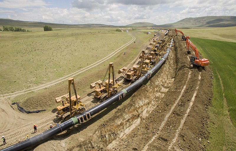 Oil & Gas Cross Country & City Distribution Pipeline – Project Spec